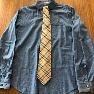 Express mens casual button down.